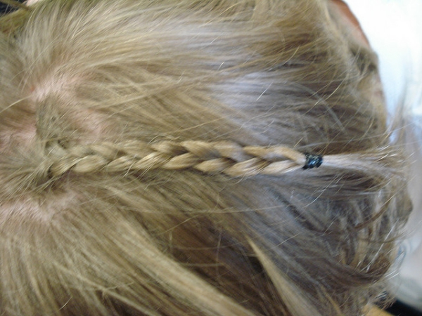 headband braid 30 Cute Hairstyles For School