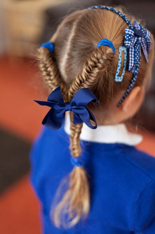 Perfect School hairdo
