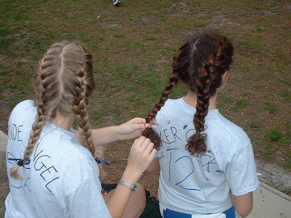 sporty plaits 30 Cute Hairstyles For School