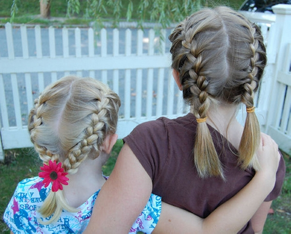 twin braids 30 Cute Hairstyles For School