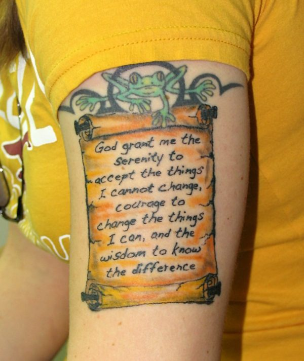 fc7b6e66dc021 Scroll Tattoos - 20 Excellent Collections | Design Press