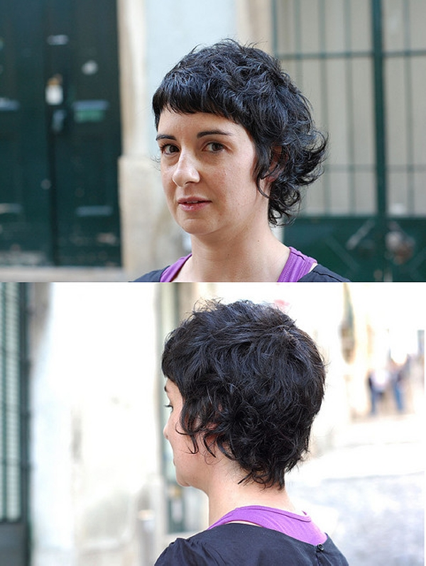 40 Awesome Short Haircuts For Curly Hair