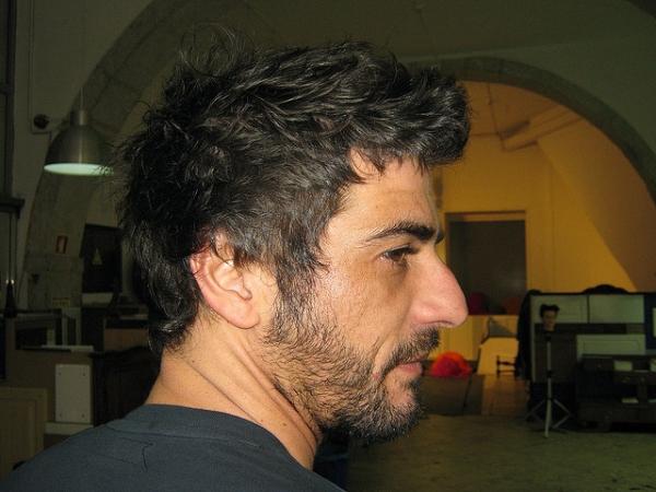 Curly Hair Cut Man
