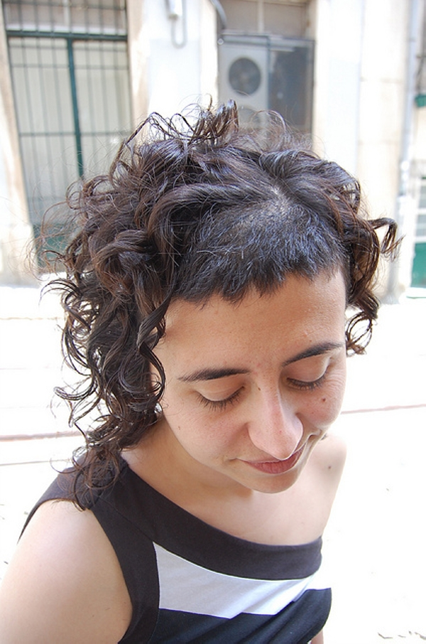 Tremendous 40 Awesome Short Haircuts For Curly Hair Slodive Hairstyles For Women Draintrainus
