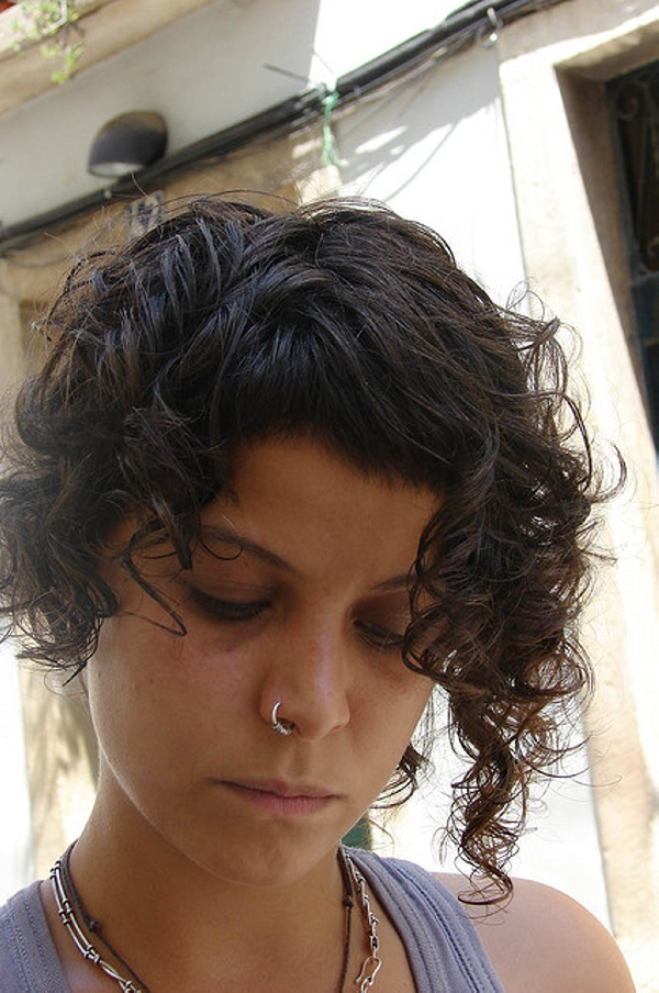 Haircut Curly Front