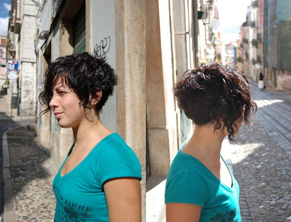 Stylish Curly Hairdo