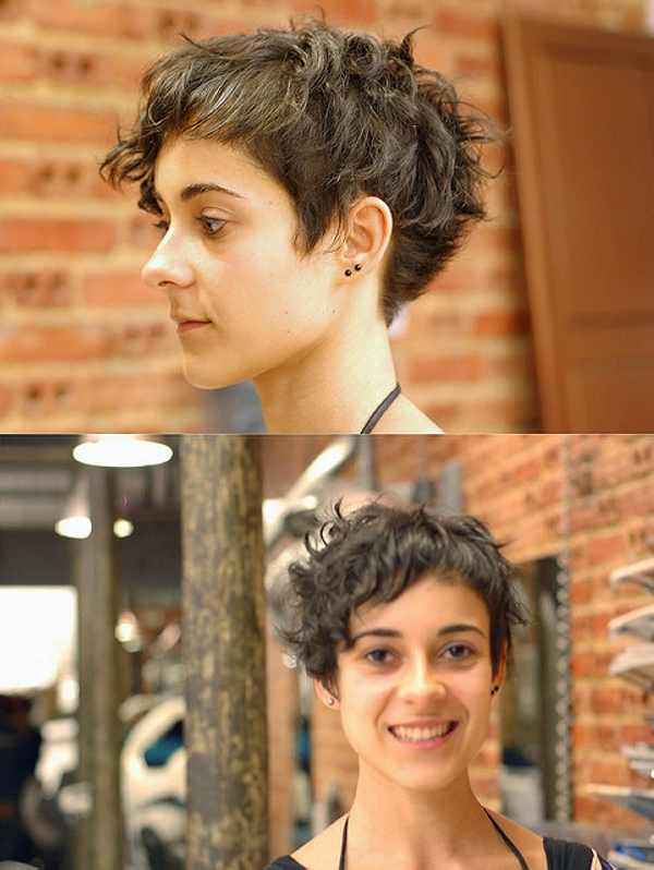 Pleasant 40 Awesome Short Haircuts For Curly Hair Slodive Hairstyle Inspiration Daily Dogsangcom