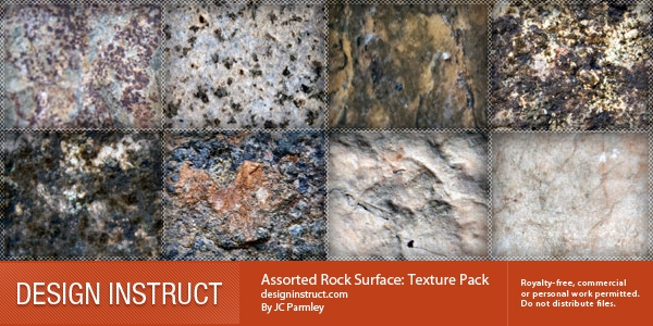 Assorted Rock Texture Pack