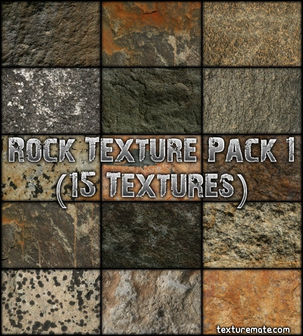 Rocky Surface Texture Pack