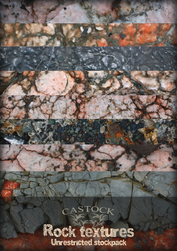Unrestricted Rock Texture Set