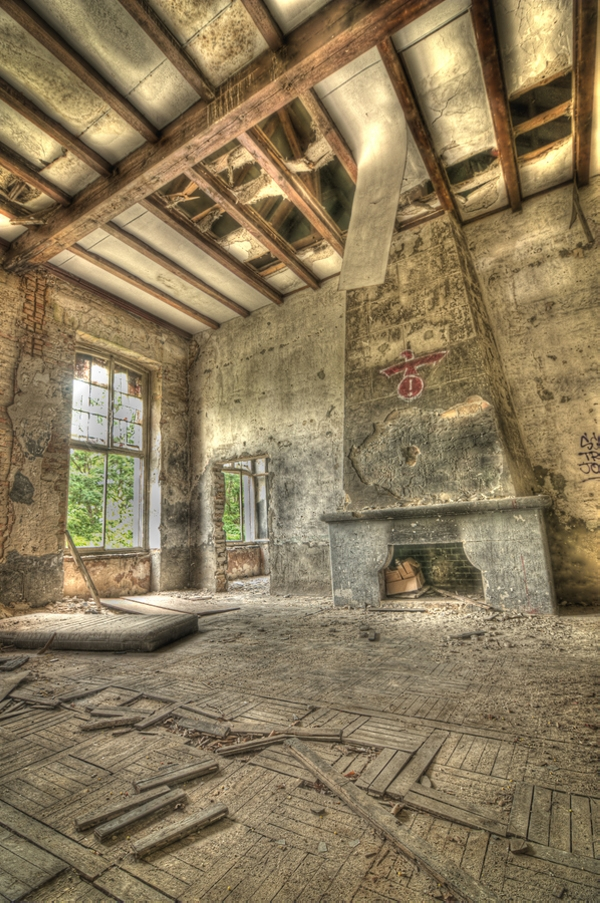 Old House Fireplace