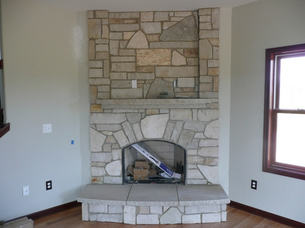 Perfect fit Fireplace