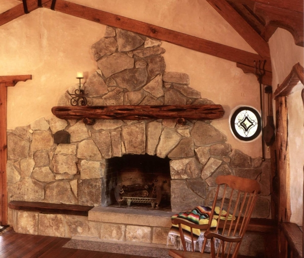 Warm House Fireplace