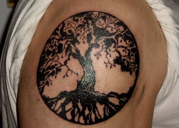 Amazing Tree Of Life Tattoo