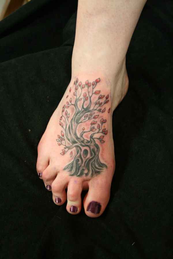 Tree Life Tattoo Designs