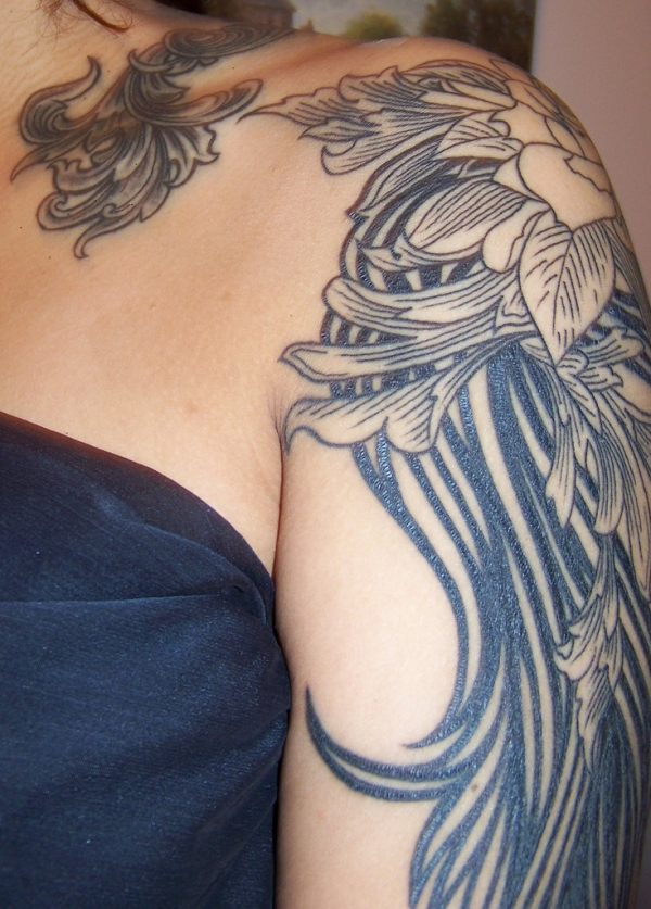 ShoulderTattoos for Women