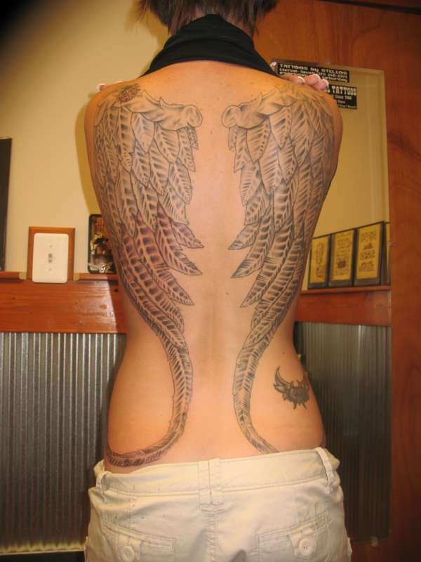 f176f7bd6 Angel Tattoos: 30 Sweet Angel Tattoos For Women - Design Press