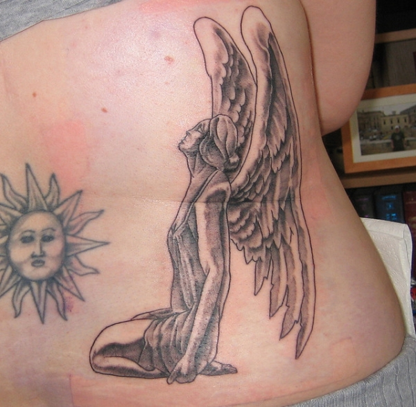 Nice Angel Tattoo
