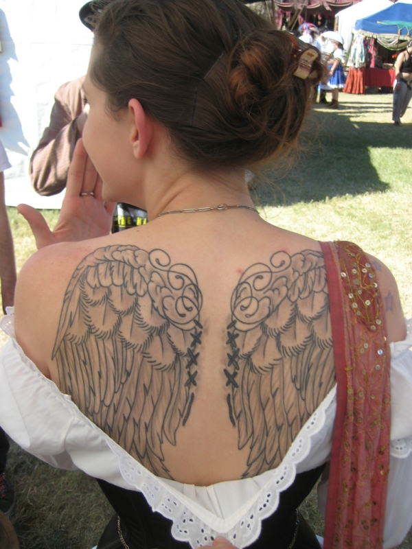 Wings Tattoo Back Again