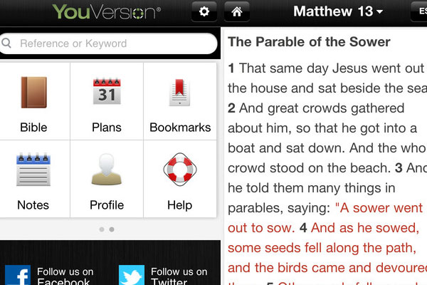 bible 60 Best iPhone Apps You Should Install
