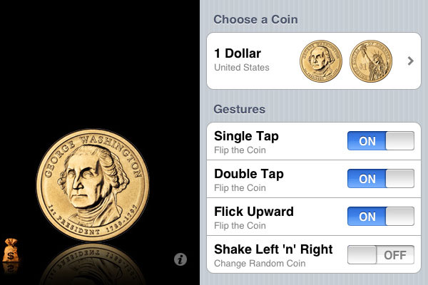 coin flip 60 Best iPhone Apps You Should Install