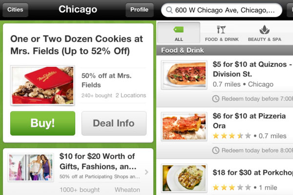 groupon 60 Best iPhone Apps You Should Install
