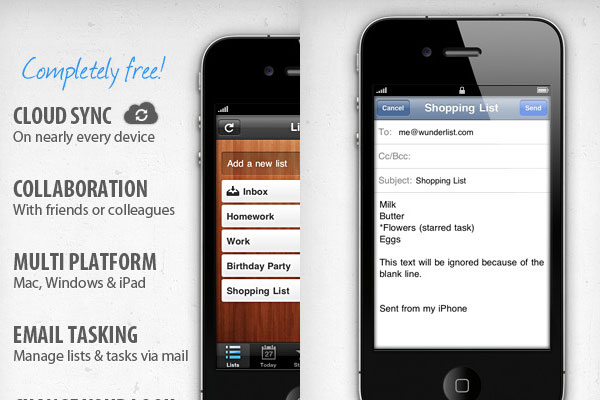 wunderlist 60 Best iPhone Apps You Should Install