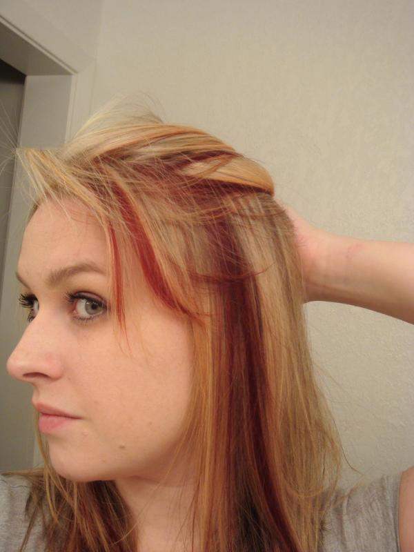 30 blonde hair with red highlights ideas red and blonde highlights pmusecretfo Images