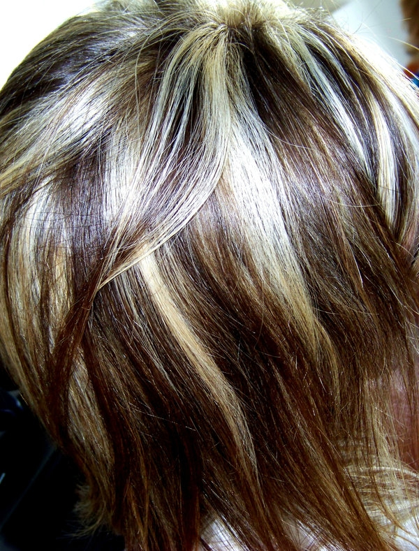 Light Brown Hair With Blonde Highlights Slodive