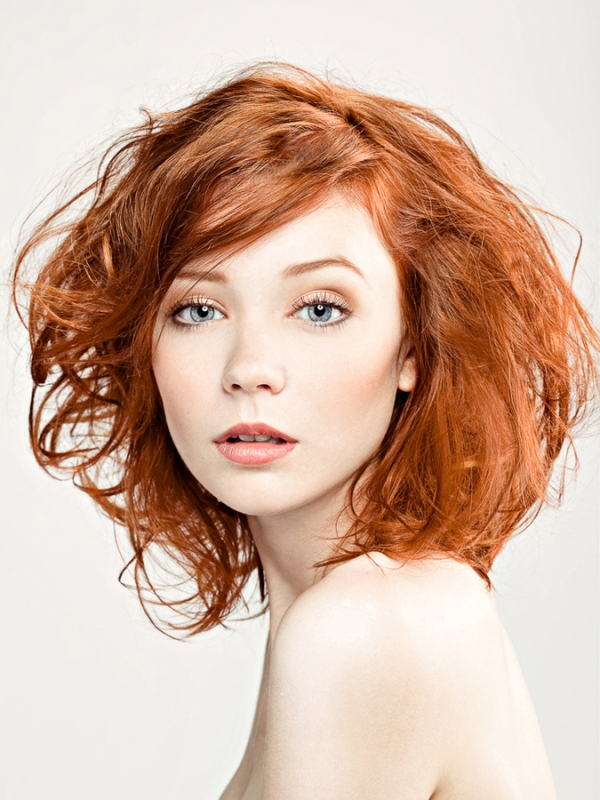 Orange Color Hairstyles Hairstyles By Unixcode