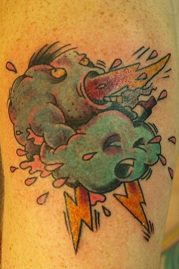 Cloud Rape Tattoo