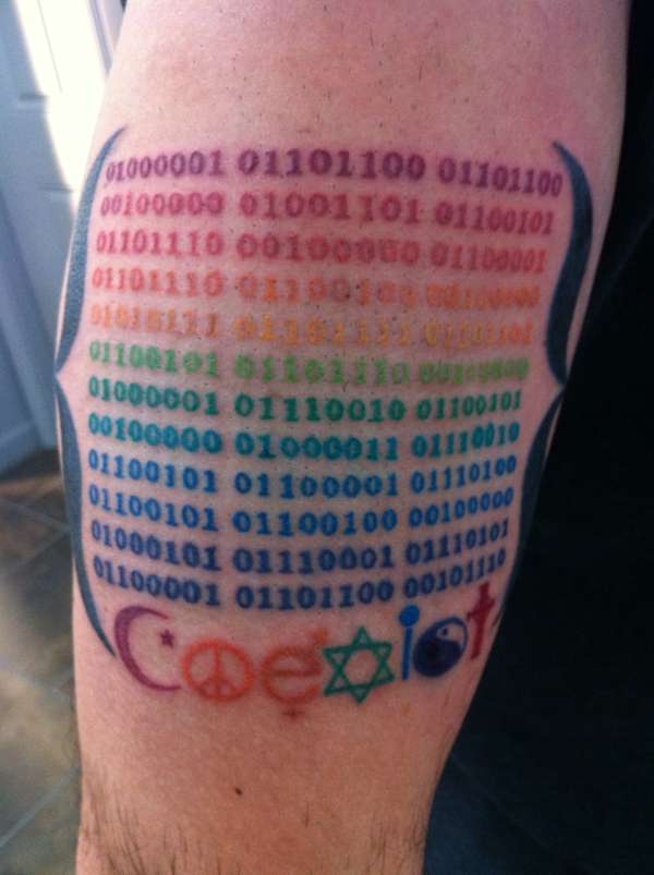 Binary Tattoo