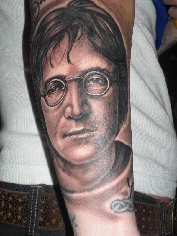 john lennon tattoo 40 Cool Tattoos For Guys You Would Love To Have