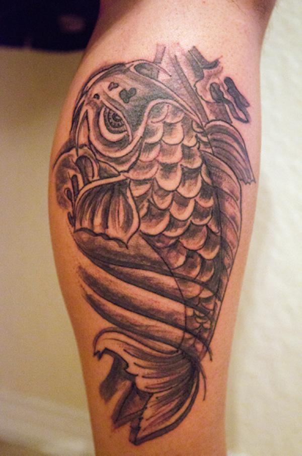 25 Sweet Coy Fish Tattoos Slodive