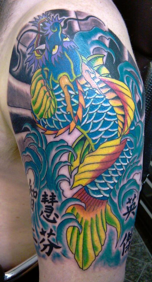 Nice Koi Dragon Fish
