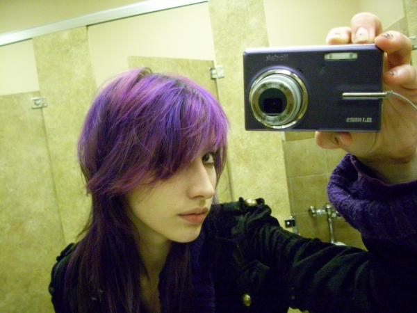 35 brilliant dark brown hair with highlights slodive lighter purples with the blurples highlights pmusecretfo Choice Image