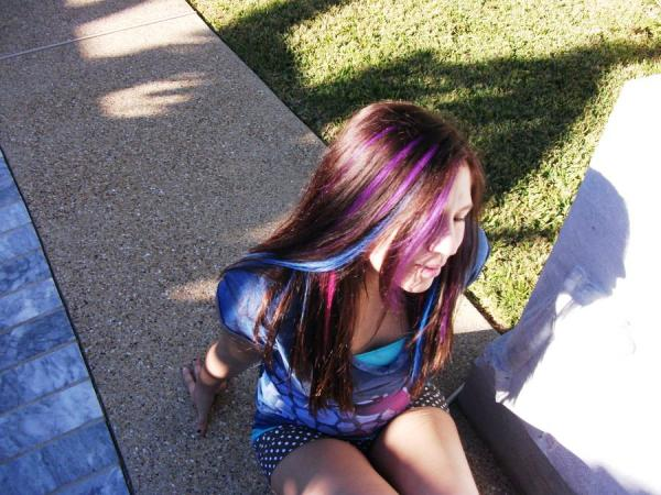 My highlights are Red, Blue, Purple, and Pink