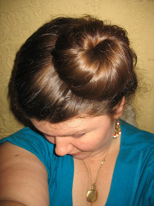 Off Center Chignon