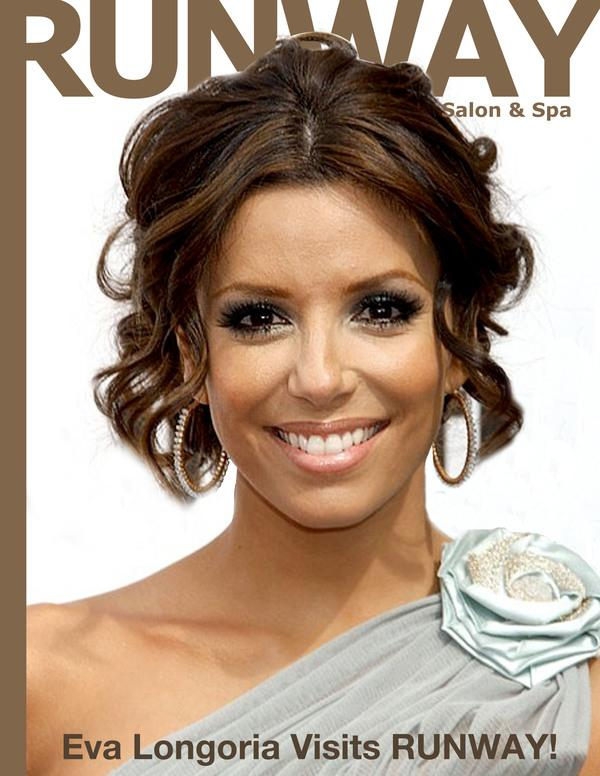 Eva Longoria Updo Hairstyles Back View Famous Hair Style 2018
