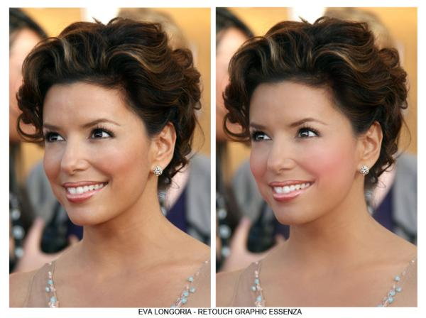 rolled up ringlets 30 Beautiful Eva Longoria Hairstyles