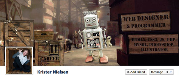 krister 75 Surprisingly Creative Facebook Timeline Covers
