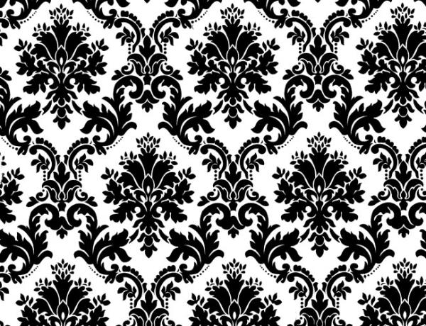 black white floral background 40 Fabulous Floral Backgrounds