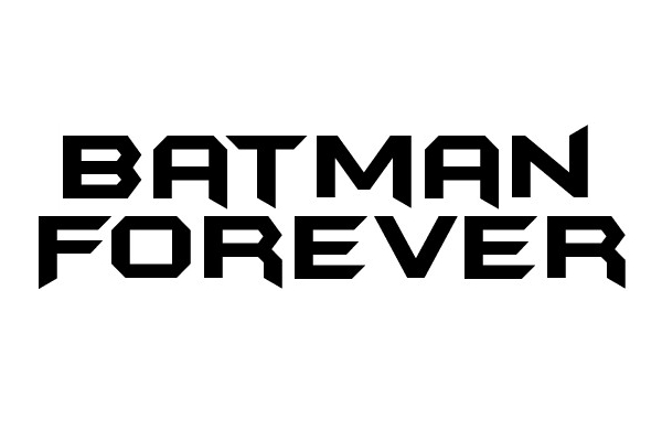 batman forever 35 Movie Fonts That Are Free To Download