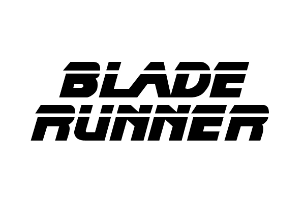 blade runner 35 Movie Fonts That Are Free To Download