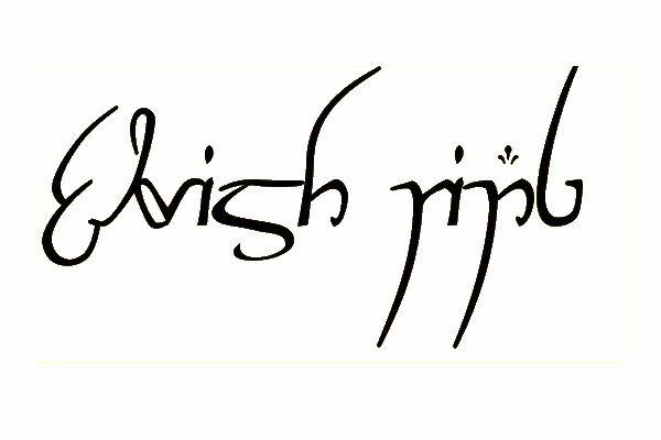 elvish ring 35 Movie Fonts That Are Free To Download