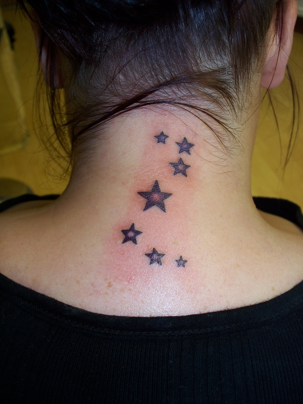 Glowing Neck Stars