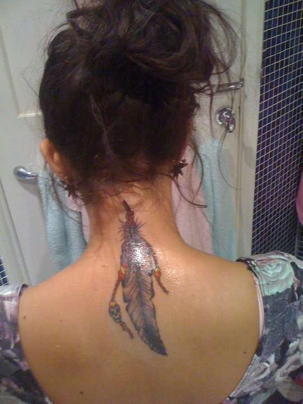 Neck Tattoos For Girls 35 Awing Collections Design Press