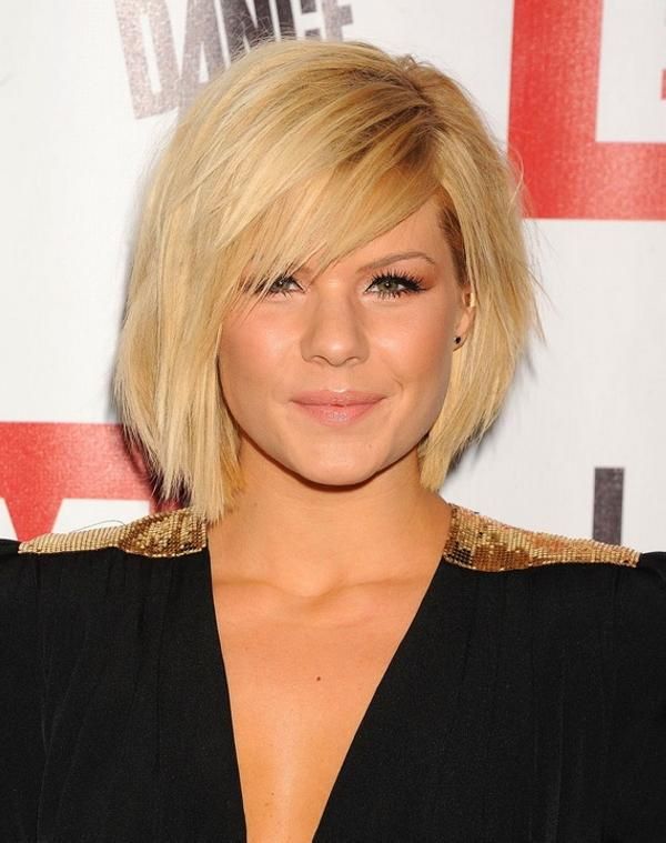 Kimberley Side Parted Hairstyle