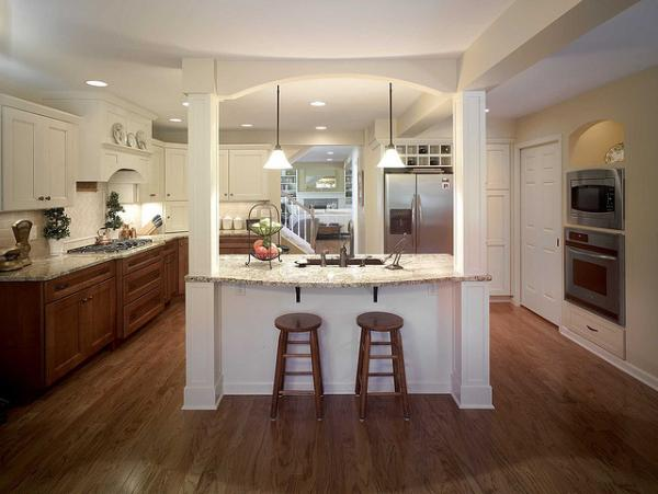 Kitchen Lighting Ideas Pictures Beautiful Collections SloDive - Lighting for small kitchen island