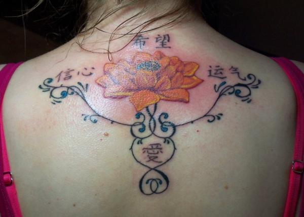 custom lotus flower 35 Lovely Lotus Flower Tattoos